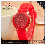 Relógios feitos sob encomenda do silicone do esporte de Genebra para as mulheres (DC-1020)
