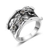 De antieke Zilveren Geplateerde Ring van de Juwelen van de Band