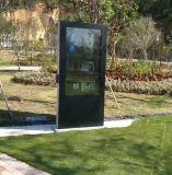 55 LCD van de Tribune van TV van de duim Waterdichte OpenluchtLCD van de Kiosk van de Reclame Vertoning