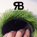 Campo de deportes que ajardina la hierba sintetizada del balompié del césped artificial de la alfombra 16800tufs/Sqm de 50m m