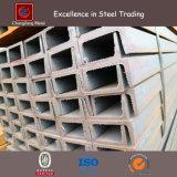 Windows/機械装置(PFC UPN UPE)のための低炭素JIS Ss540の穏やかな鋼鉄Uチャンネルの鋼鉄