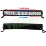 20pouces LED hybride 112W lignes incurvées avec barre d'éclairage LED CREE