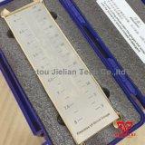 Singolo calibro/Grindometer di finezza di Hegman della scanalatura per vernice