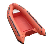 Barco de pesca de la costilla de Aqualand 16feet los 4.7m/barco inflable rígido de la fibra de vidrio (RIB470A)