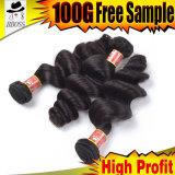 Соединенных Штатов Бразилии 100% необработанные шоколад волос