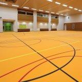 Revêtement de sol en vinyle synthétique 4,5mm Sport pour l'Athlétisme