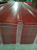 Lamiera galvanizzata ondulata 80g del tetto dello Zn
