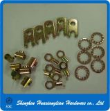 Peças de carimbo de chapa metálica em aço inoxidável customizadas de alta precisão