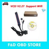 Hot Sale 2018 Dernière version V2.27 VCI-3 VCI3 Scanner professionnel sans fil WiFi VCI 3 outil de diagnostic du chariot avec SDP3 2.27