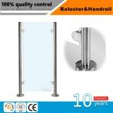 Escalier en acier inoxydable Pièces Système de Main courante / verre rambarde