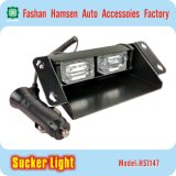 LED Emergency Traffic Car Sucker Warning Strobe Dash Light