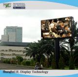 옥외를 위해 풀 컬러 P4.81 임대 발광 다이오드 표시 광고