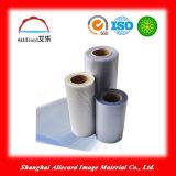 Pellicola di memoria della sovrapposizione del PVC, pellicola della sovrapposizione ricoperta PVC per il vario commercio o schede di insieme dei membri