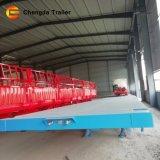 Marque Chengda 12,5 mètres 40 pieds de remorque de camion à plat fabriqué en Chine 40FT camion-remorque
