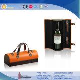 Портативная одиночная несущая вина PU кожаный (5593)