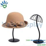 Crémaillère de présentoir de stand de chapeau de chapeau de modèle de mode pour la mémoire détaillante de chapeau