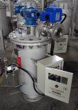 汚染の自浄式フィルターの除去による液体