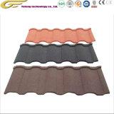 Villa Corrosion-Resistant Teja y adaptadores de piedra de color teja metálica