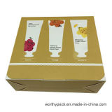 Regalo de papel rígido/rectángulo de empaquetado para el cosmético y el perfume promocionales