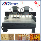 8spindles CNC Engraving Router Woodworking Milling Machine