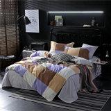 1700本の糸のカウントはMicrofiberの寝室セットの寝具カバーを印刷した