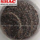 Brown fixierte Aluminiumoxyd-Sandstrahlen-Media