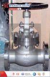 API 300lb Klep van de Bol van het Roestvrij staal de Industriële Hand In werking gestelde