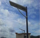 Integriertes Solarstraßenlaterne-Solarbeleuchtungssystem 90W alle in einem Licht 100 W