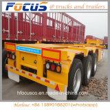 販売のための半中国3の車軸40FT骨組トレーラー