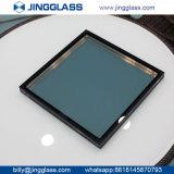 Vente en gros en verre enduite isolante en verre double E en verre inférieur argenté de la construction