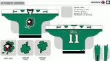 Customized Homens Mulheres Crianças Liga de Hóquei Americana Toronto 2010-2017 Wilkes-Barrescranton Pinguins Hóquei no Gelo Jersey