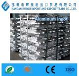 Lingote de aluminio 99%-99.9% de la alta calidad con pureza elevada