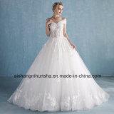 Невесты романтический кружевной цветок съемный длинные свадебные платья