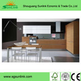 De In het groot Modulaire Keukenkast van China met Eiland voor Verkoop