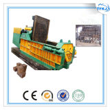 160ton Waste Metal Bales Machine Metal Scrap Compactor