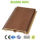 Revêtement durable extérieur recyclable de mur du composé WPC de 100%
