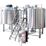 strumentazione personalizzata riscaldata a vapore della fabbrica di birra della birra 7bbl