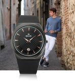 [بلبي] رجال رياضات ساعة نمو عرضيّ مسيكة نوع ذهب بطارية تقديم ساعة