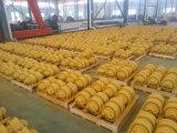 A estrutura da escavadora da máquina escavadora da maquinaria de construção parte o rolo da trilha/rolo inferior Daewoo/Doosan Dh420