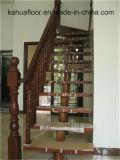 Высокомарочная естественная деревянная нутряная лестница