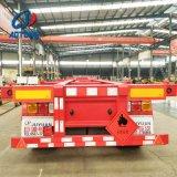 China la fabricación del eje 3 el esqueleto de 40 pies de chasis contenedor/semi-remolques