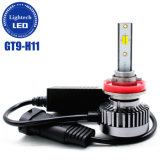 Lightech Lámpara automática gt9 50W CSP 9005 H11 H1 de 3 colores, todo en uno de faros LED