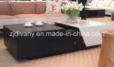 현대 작풍 나무로 되는 커피용 탁자 서랍 테이블 (T-92)