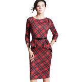 Платье половинного офиса повелительниц платья втулки официально