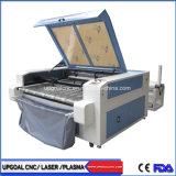 Dubbele Hoofden 1600*1000mm Scherpe Machine van de Laser van de Stof van Co2