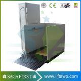 1m hydraulische elektrische vertikale Sperrungs-Aufzug-Plattform