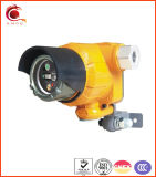 アラームIR+UV耐圧防爆火炎検出器の消火活動