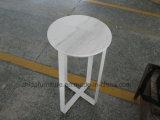 Гостеприимство Кофейный мрамор стороны круглый стол Журнальный столик