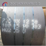 Утюга углерода S235jr Ss400 A36 плита горячекатаного Chequered
