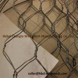 Lourdement le zinc galvanisé Cages de gabions pour les roches